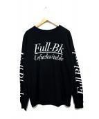 FULL-BK(フルビーケー)の古着「長袖Tシャツ」|ブラック