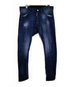 DSQUARED2(ディースクエアード)の古着「Rider Jean デニムパンツ」 ブルー