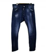 DSQUARED2(ディースクエアード)の古着「Rider Jean デニムパンツ」|ブルー
