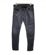 DIESEL(ディーゼル)の古着「ジョグデニムパンツ」|グレー