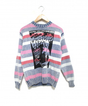 Hysteric Glamour(ヒステリックグラマー)の古着「YOUNG AND HUNGRY PO ニット」|マルチカラー