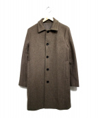 STUDIOUS(ステュディオス)の古着「カシミア混ステンカラーコート」