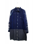 cotemer(コートメール)の古着「切替ロングシャツ」