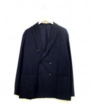 COMOLI(コモリ)の古着「ウールナイロンダブルジャケット」