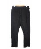 08sircus(08サーカス)の古着「リネン混パンツ」|ブラック