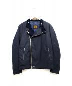 james grose(ジェームス・グロース)の古着「コットンライダースジャケット」
