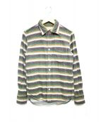 REMI RELIEF(レミレリーフ)の古着「ヘビーコットンネルシャツ」