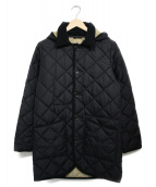 B:MING LIFE STORE(ビーミングライフストア)の古着「キルティングコート コート」|ブラック