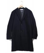 BEAUTY&YOUTH(ビューティアンドユース)の古着「チェスターコート コート」|ネイビー