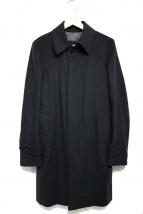TOMORROW LAND PILGRIM(トゥモローランドピルグリム)の古着「カシミヤ混ウールコート」|ブラック