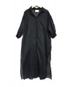 MIDIUMISOLID(ミディウミソリッド)の古着「ブラウスワンピース」