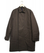 Calvin Klein(カルバンクライン)の古着「ステンカラーコート コート」 ブラウン