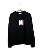 ami(アミ)の古着「ビッグAMIスウェットシャツ」|ブラック