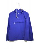 Battenwear(バテンウェア)の古着「アノラックパーカー」|ブルー