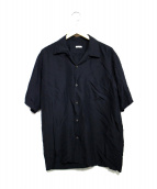 COMOLI(コモリ)の古着「シルクオープンカラーシャツ」