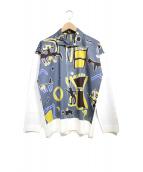 HOMME PLISSE ISSEY MIYAKE(オム プリッセ イッセイ ミヤケ)の古着「アートシャツ」