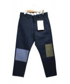 FDMTL×Dickies(ファンダメンタル×ディッキーズ)の古着「コラボパンツ パンツ」|ネイビー