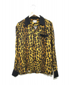 WACKO MARIA(ワコマリア)の古着「オープンカラーシャツ」|ブラウン