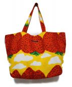 marimekko(マリメッコ)の古着「トートバッグ バッグ」|イエロー
