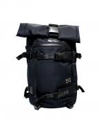 ASSOV(アッソブ)の古着「ロールトップバックパック リュック」 ブラック
