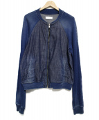 DIESEL(ディーゼル)の古着「デニムブルゾン」|ブルー