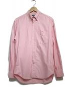 GITMAN BROS(ギットマン ブラザーズ)の古着「レギュラーシャツ トップス」 ピンク
