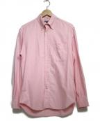 GITMAN BROS(ギットマンブラザーズ)の古着「レギュラーシャツ トップス」 ピンク