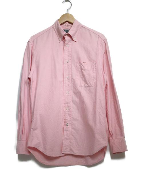 GITMAN BROS(ギットマンブラザーズ)GITMAN BROS (ギットマン ブラザーズ) レギュラーシャツ トップス ピンク サイズ:15の古着・服飾アイテム