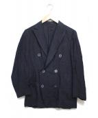 LARDINI(ラルディーニ)の古着「リネンジャケット」|ネイビー