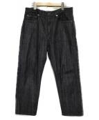 The FRANKLIN TAILORED(フランクリンテーラード)の古着「デニムパンツ パンツ」|グレー