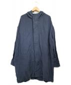 SUZUKI TAKAYUKI(スズキタカユキ)の古着「ANORAK コート」 グレー