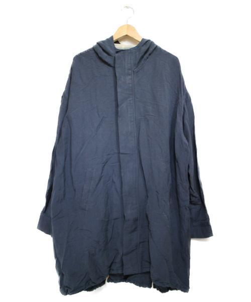 SUZUKI TAKAYUKI(スズキタカユキ)SUZUKI TAKAYUKI (スズキタカユキ) ANORAK コート グレー サイズ:2の古着・服飾アイテム