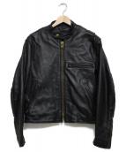 PROTECK(プロテック)の古着「ライナー付レザージャケット  ジャケット」|ブラック