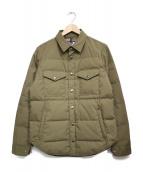 THE NORTH FACE PURPLE LABEL(ザノースフェイス パープルレーベル)の古着「65/35 Down Shirt ジャケット」|ベージュ