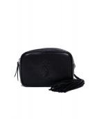 SAINT LAURENT PARIS(サンローランパリ)の古着「ルーベルトバッグ バッグ」|ブラック
