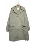 DANTON(ダントン)の古着「ナイロンタフタコート コート」|ベージュ