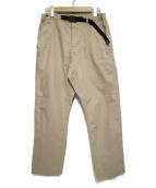 GRAMICCI(グラミチ)の古着「PORTER UNKLE PANTS パンツ」|ベージュ