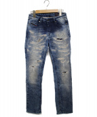 DIESEL(ディーゼル)の古着「ジョグデニムパンツ パンツ RIZZO-NE」|ブルー