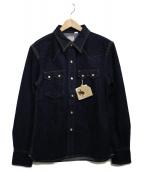 THE FLAT HEAD(ザ・フラッドヘッド)の古着「デニムウエスタンシャツ シャツ トップス」