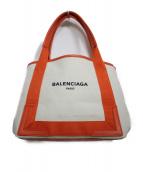 BALENCIAGA(バレンシアガ)の古着「NAVY CABAS S バッグ」