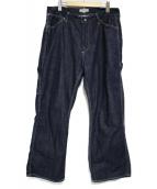 ordinary fits(オーディナリーフィッツ)の古着「ペインターパンツ」|インディゴ