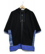 DIESEL BLACK GOLD(ディーゼル ブラック ゴールド)の古着「半袖パーカー」
