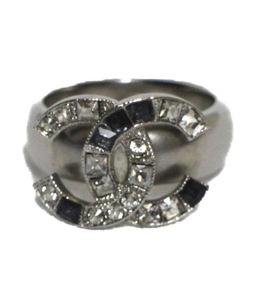 CHANEL(シャネル)CHANEL (シャネル) ガンメタルリング 指輪の古着・服飾アイテム