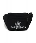 BALENCIAGA(バレンシアガ)の古着「EXPLORER BELT PACK ボディーバッグ」|ブラック