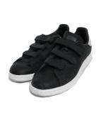 adidas(アディダス)の古着「STAN SMITH CF スニーカー スタンスミス」|ブラック