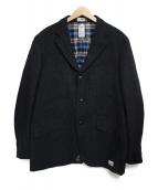 BEDWIN(ベドウィン)の古着「ウール混ジャケット」 ブラック