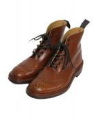 Trickers(トリッカーズ)の古着「カントリーブーツ ブーツ」 ブラウン
