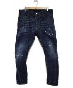 DSQUARED2(ディースクエアード)の古着「Tidy Biker Jean パンツ」 ブルー