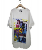 Hysteric Glamour(ヒステリックグラマー)の古着「Tシャツ カットソー」|ホワイト
