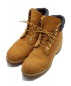 Timberland(ティンバーランド)の古着「6 IN DOUBLE COLLAR BOOT ブーツ」|ブラウン